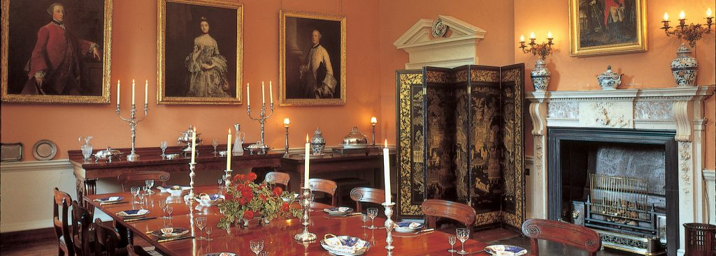 Dining Room at Pencarrow