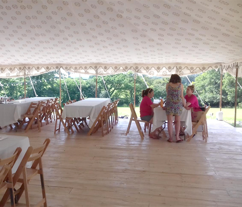 Corporate events at Pencarrow