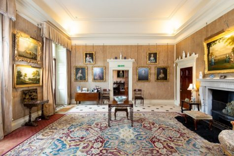 Stately homes in Cornwall, the Anteroom in Pencarrow