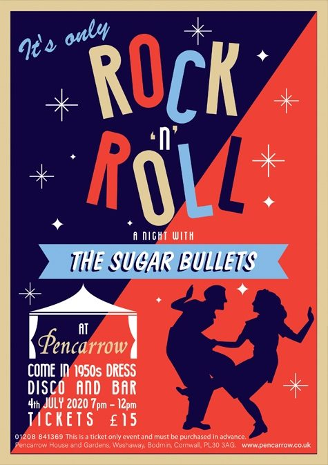 The Sugar Bullets Rock and Roll Dance at Pencarrow House and Gardens