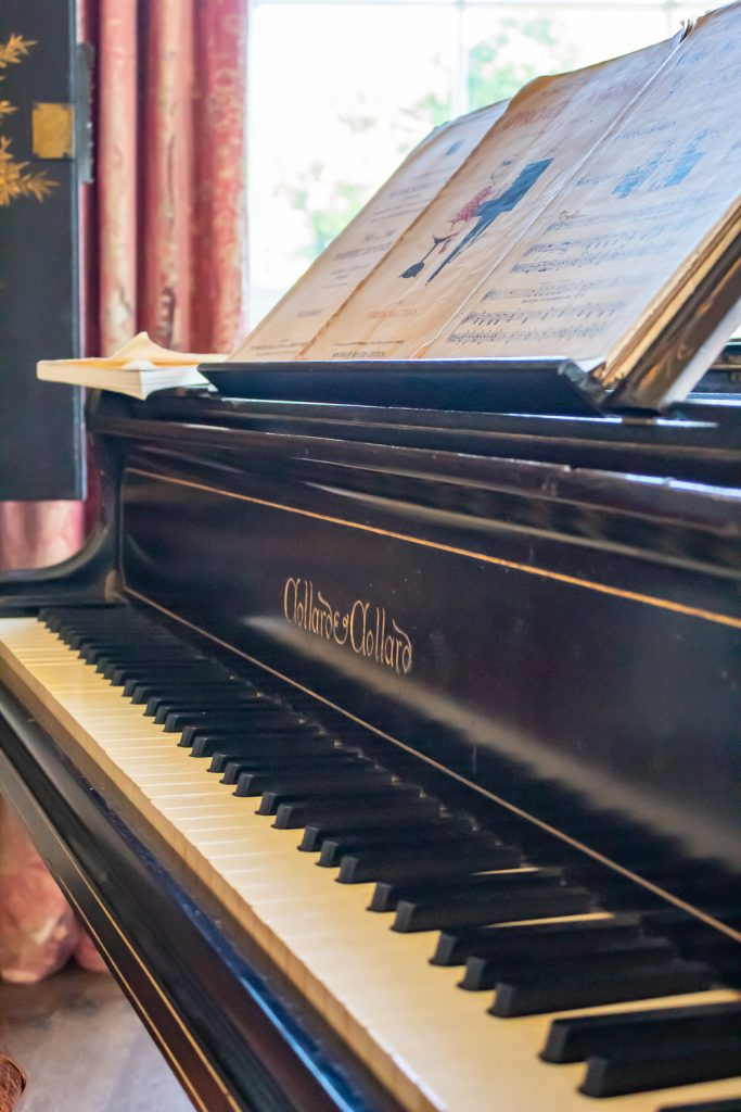 The piano at Pencarrow is the very same one Sullivan used to compose Iolanthe
