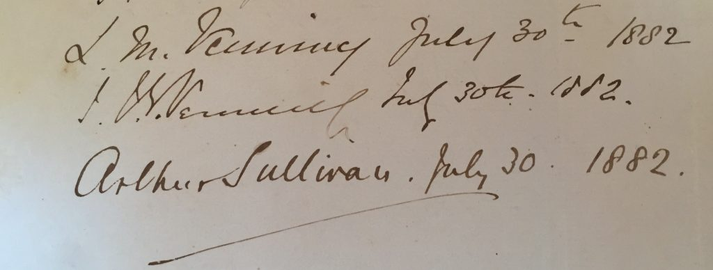 Sullivan's Signature close up